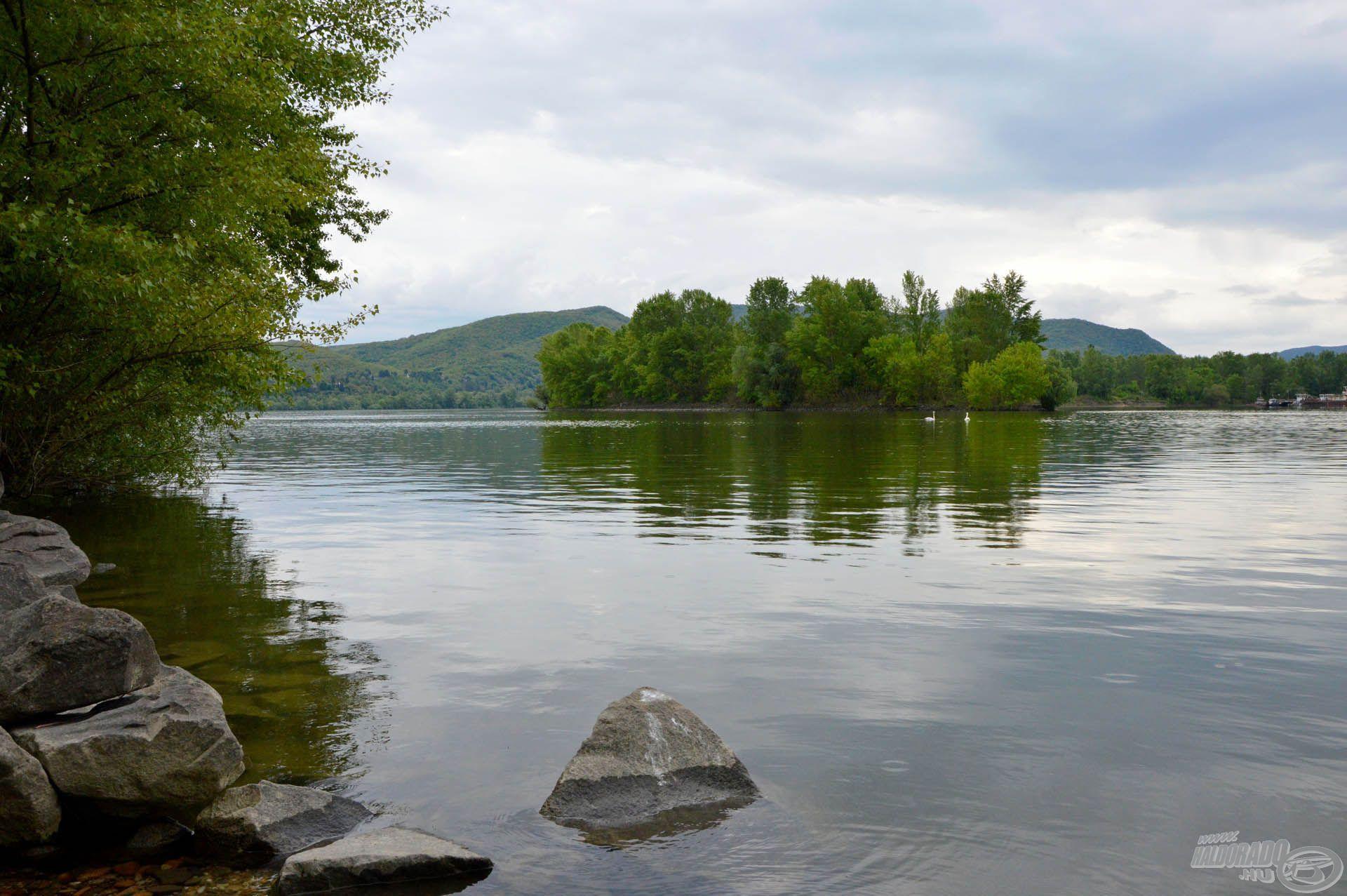 A halak szabadon közlekedhetnek a nagy Duna felé
