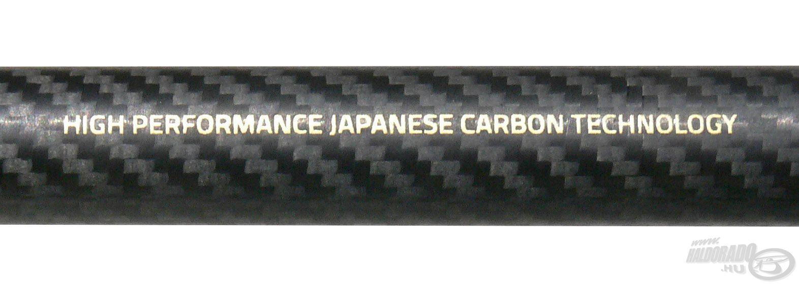 A bot anyaga japánból származó IMT-12 Power Carbon, amely további kevlárhálós erősítést kapott