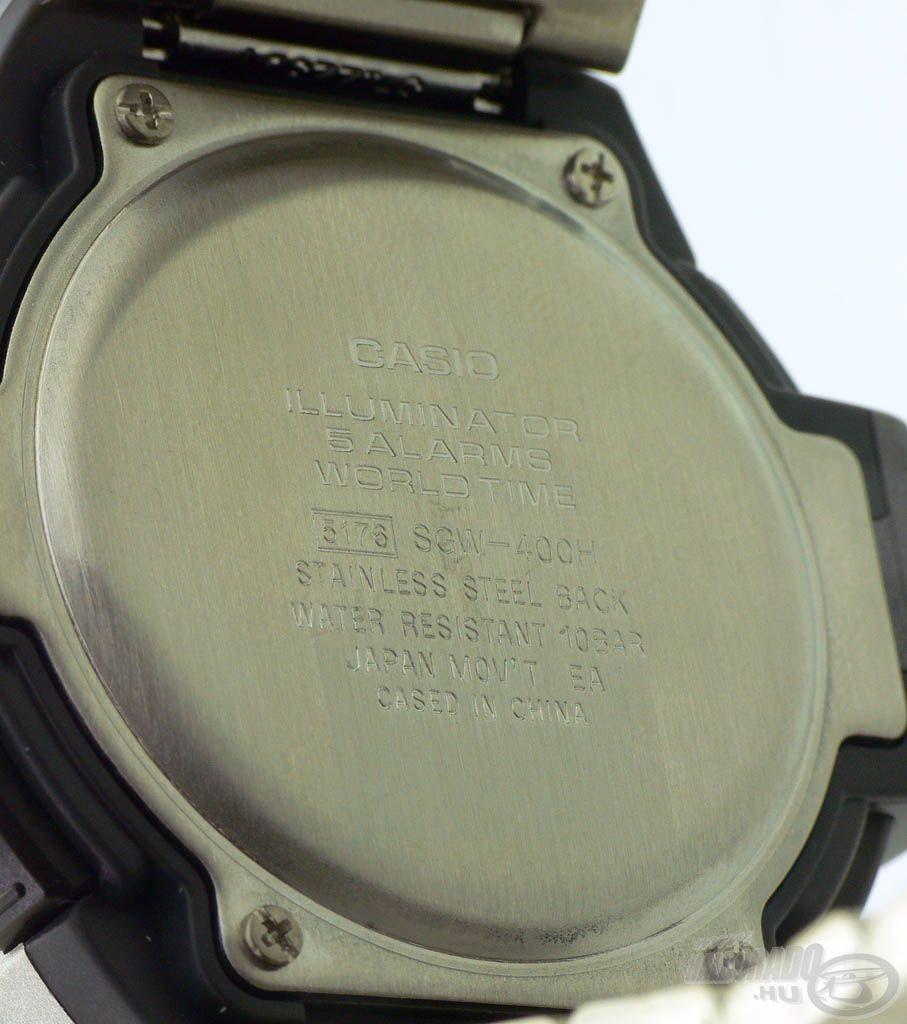 Ez az óra tényleges vízálló