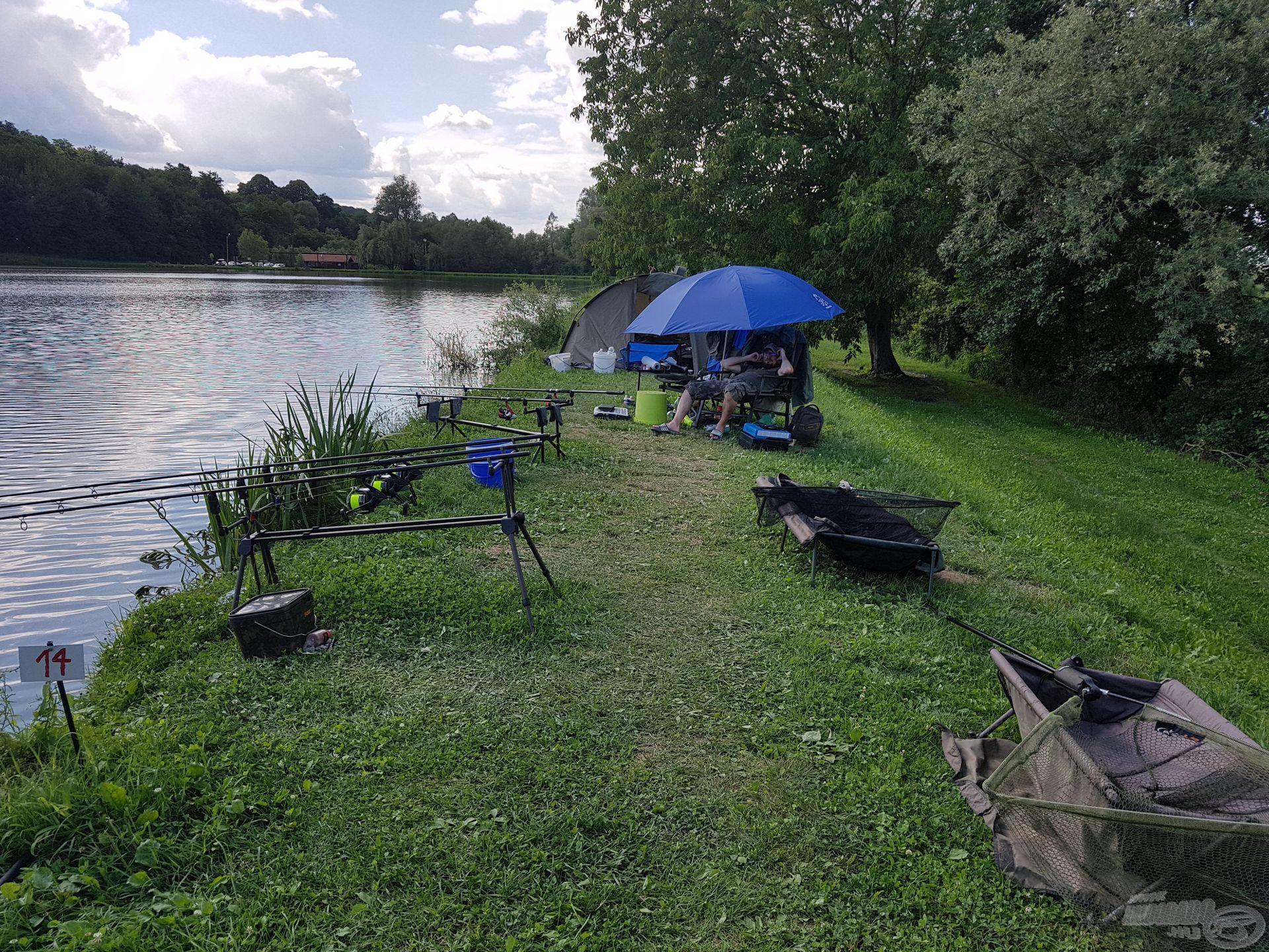 Jó volt itt horgászni