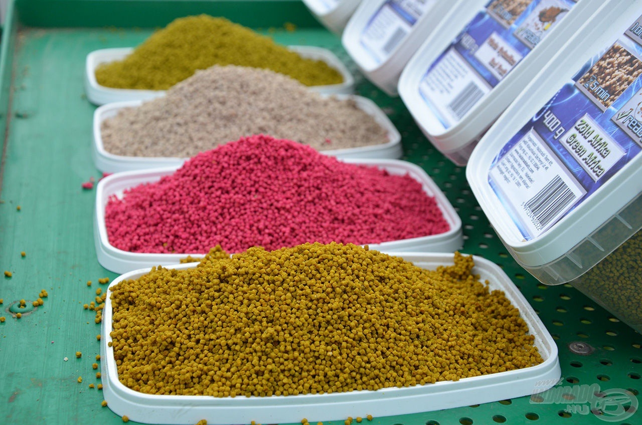 Az apró Micro Method Feed Pellet használatával a kapásszám csökken, de jelentősen növelhető a halak mérete