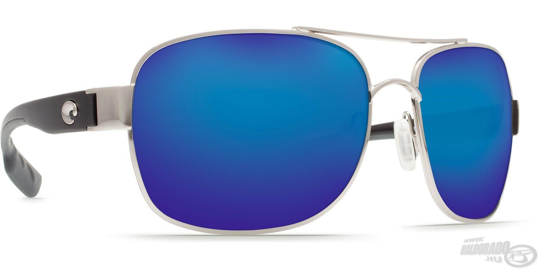 A Cocos szemüvegek egyik legvagányabb színváltozata a Blue Mirror