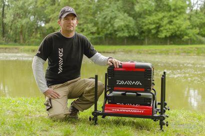 Daiwa termékek a feederbotos horgászatban 4. rész: Daiwa Tournament® 500 Seat Box