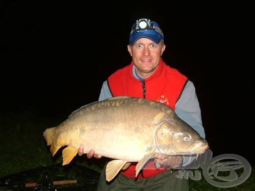 Az éjszakai horgászat gyakran tartogat meglepetéseket