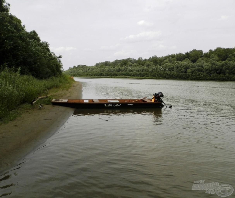 A csónak és az elektromos motor nagy előnyt jelent