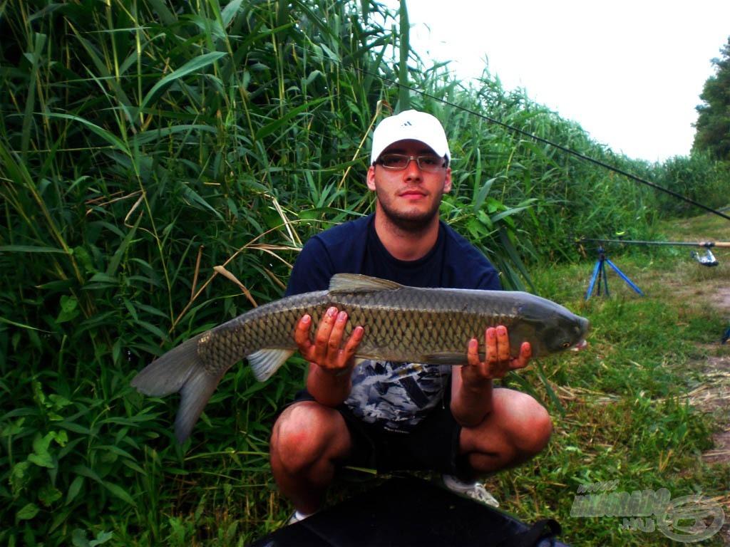 A horgászatot egy amurral kezdtem, és azzal is fejeztem be