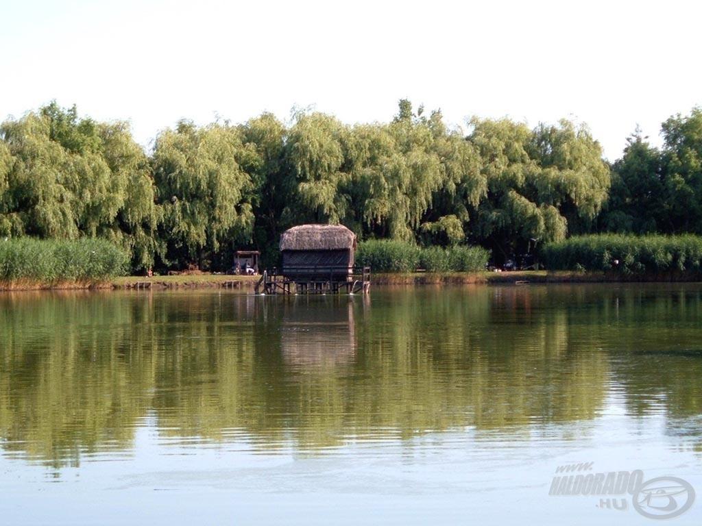 A tó és a ház