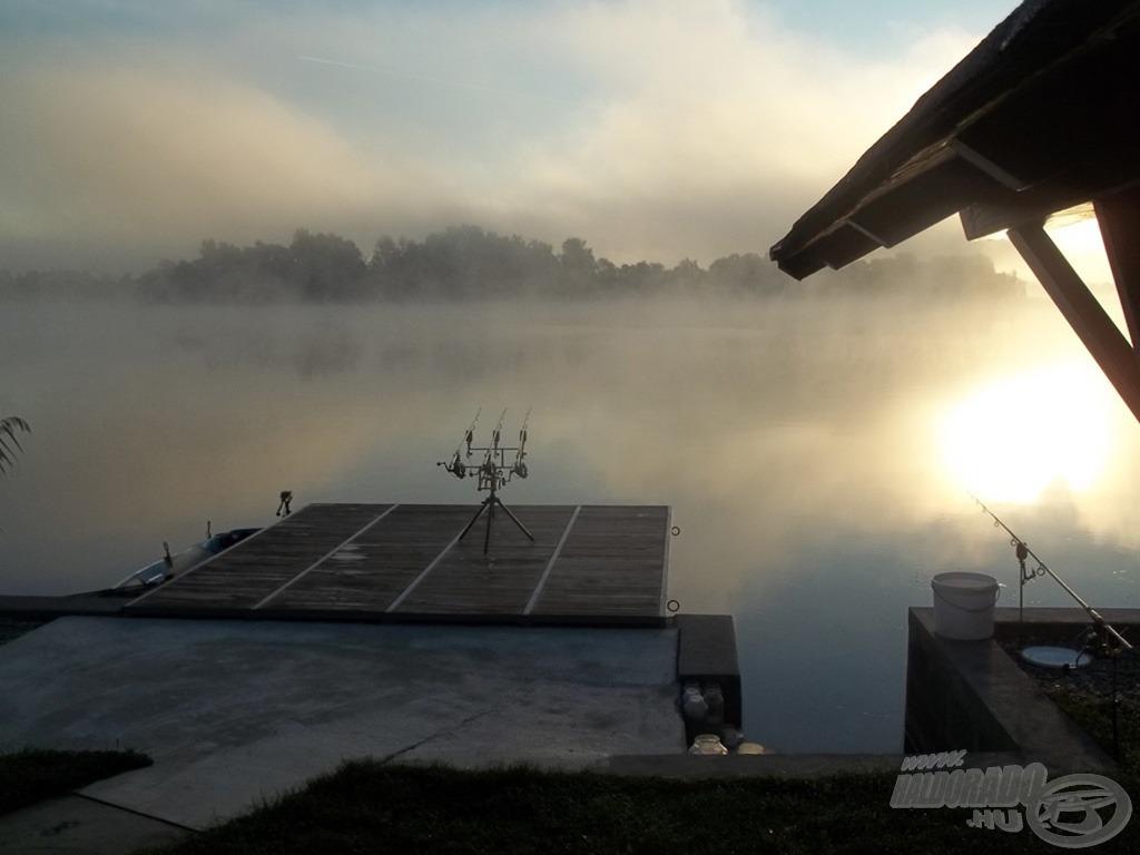 Ködös, párás reggel