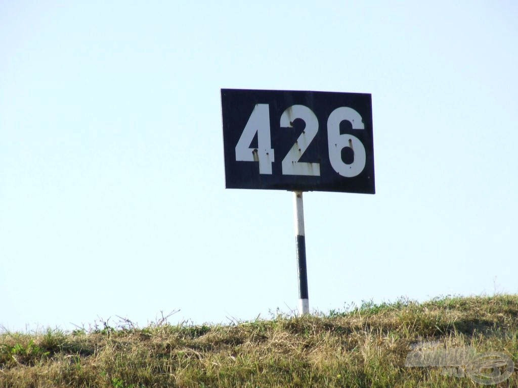 Ez a hely a 426-os folyamkilométernél található a tiszaörvényi gát mellett