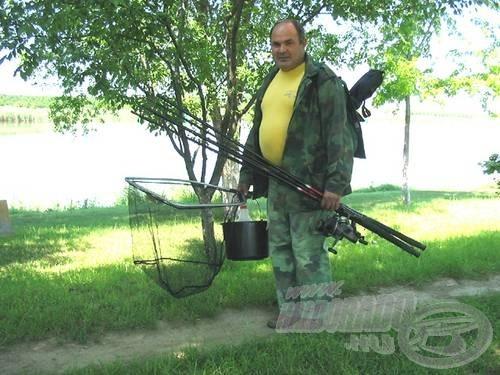 némi horgászfelszerelés
