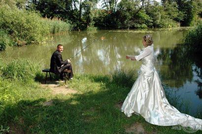 Esküvő a vízparton
