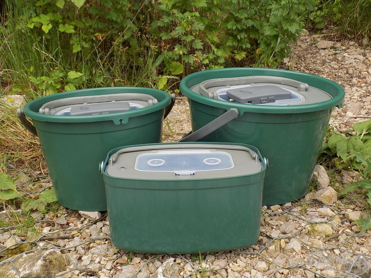 7, 13 és 18 literes kannákból válogathatunk