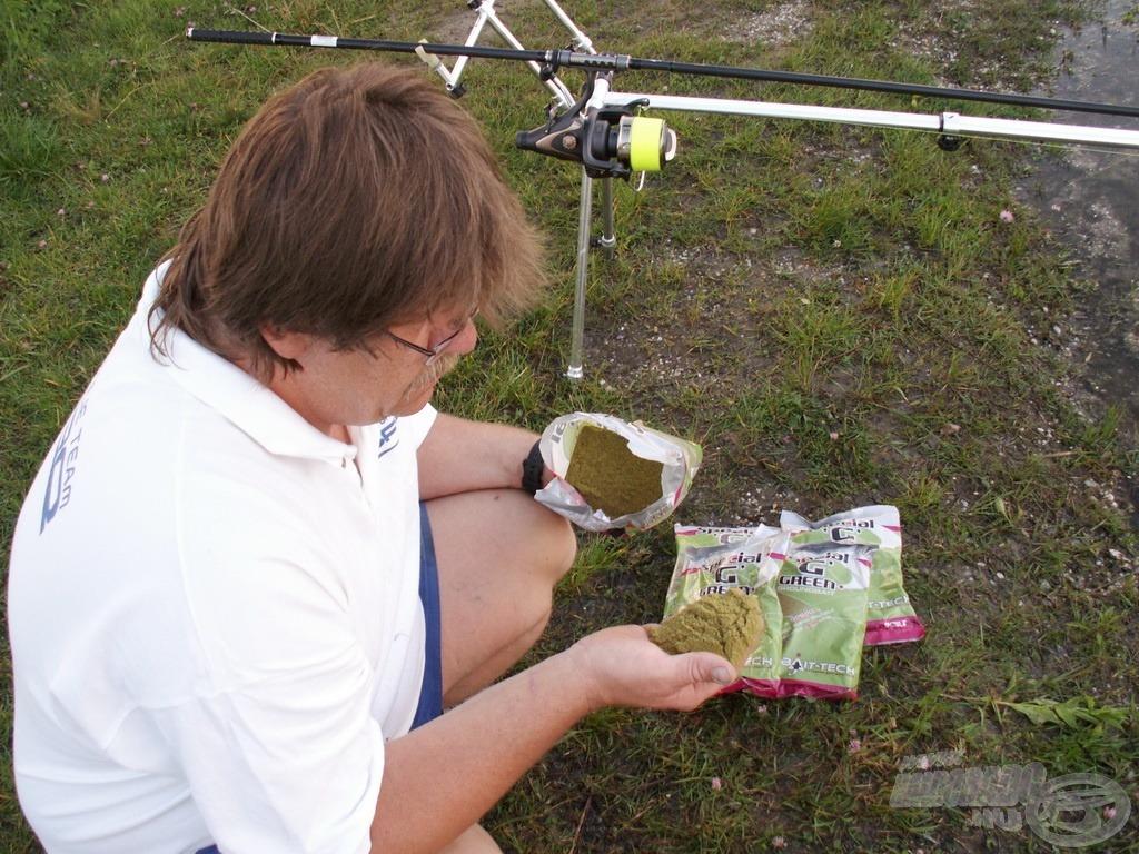 A Bait-Tech Special 'G' Green etetőanyag a GPS 90 hallisztnek köszönhetően kiváló a bojlis horgászatok során is!