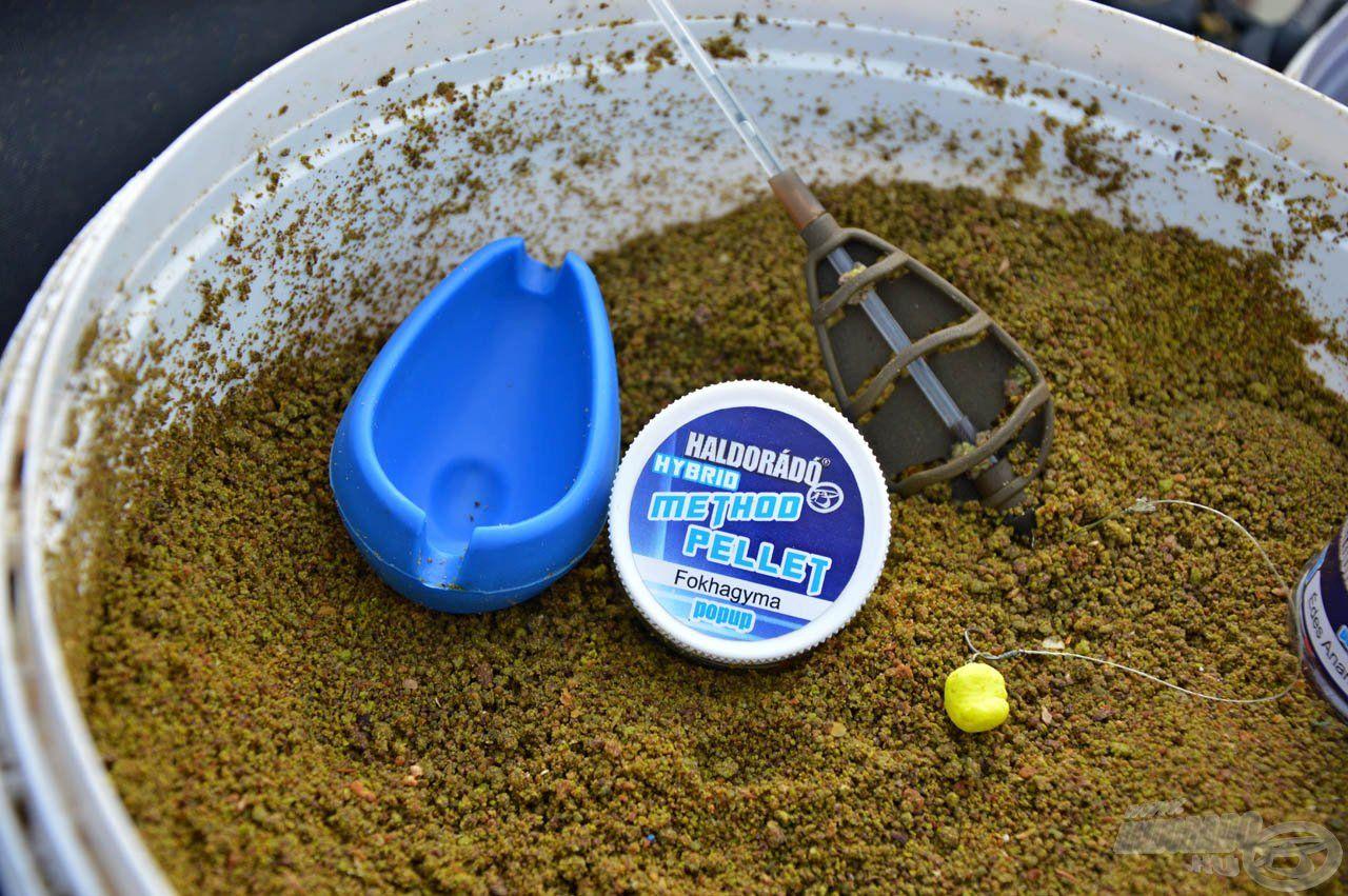 """A """"hobbi"""" method feederes versenyek megoldhatóak egy marék etetőanyaggal, egy tuti csalival, és egy hatékony végszerelékkel"""