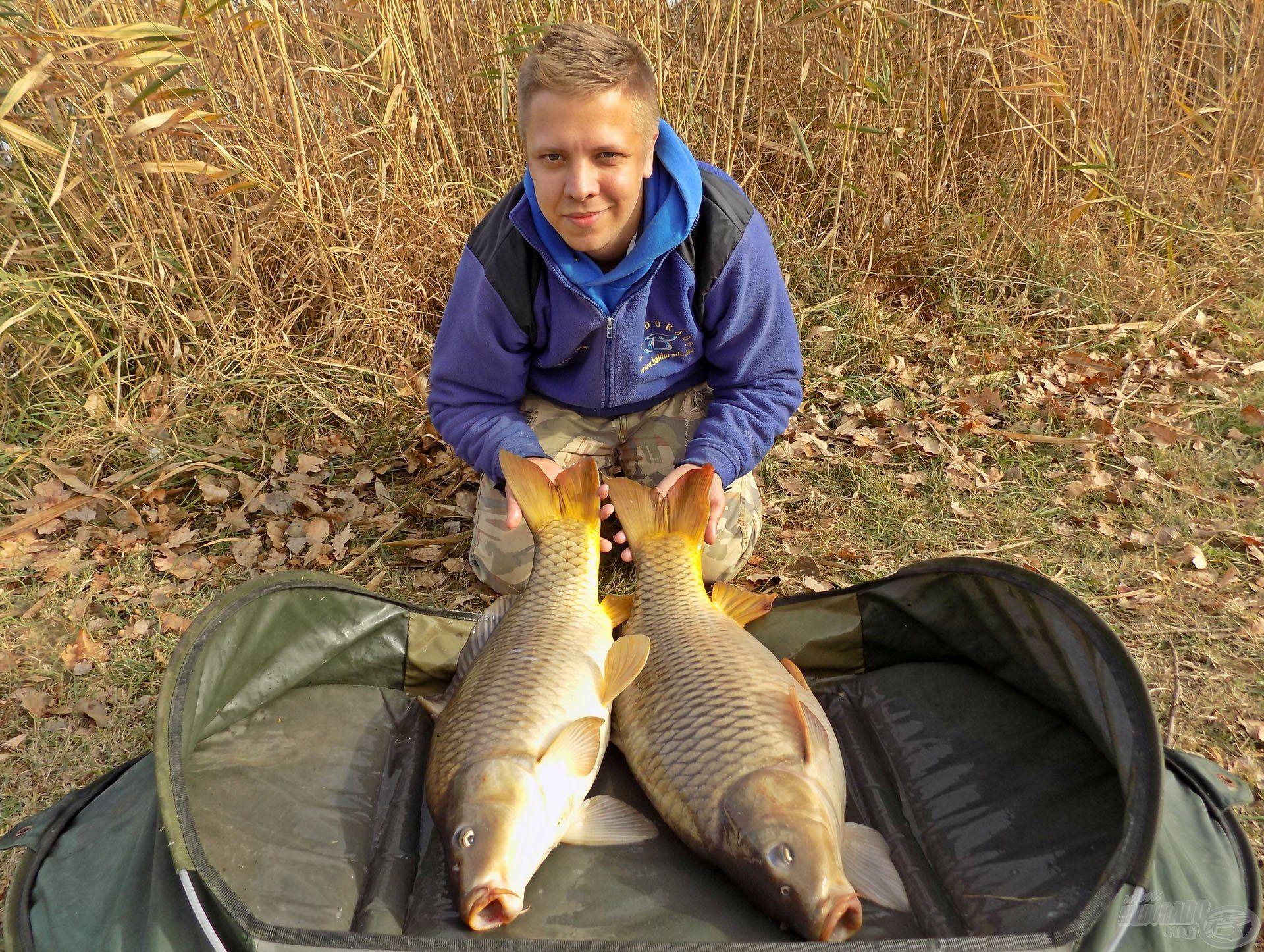 Hasonló eredményekben gazdag hideg vízi horgászatot kívánok az Olvasóknak!
