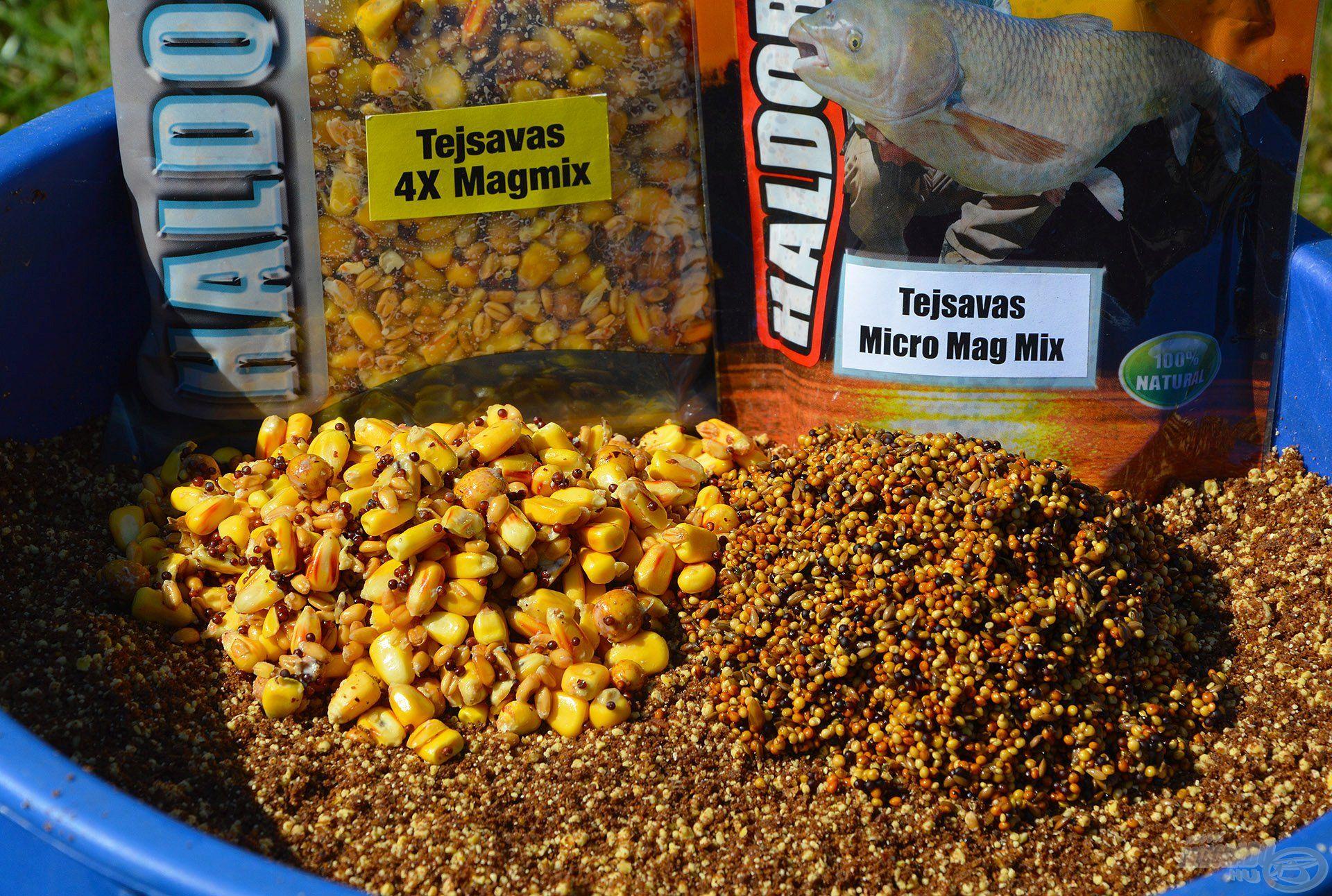 A keverék tartalmasságáról a Tejsavas 4X Magmix és a Tejsavas Micro Mag Mix gondoskodik