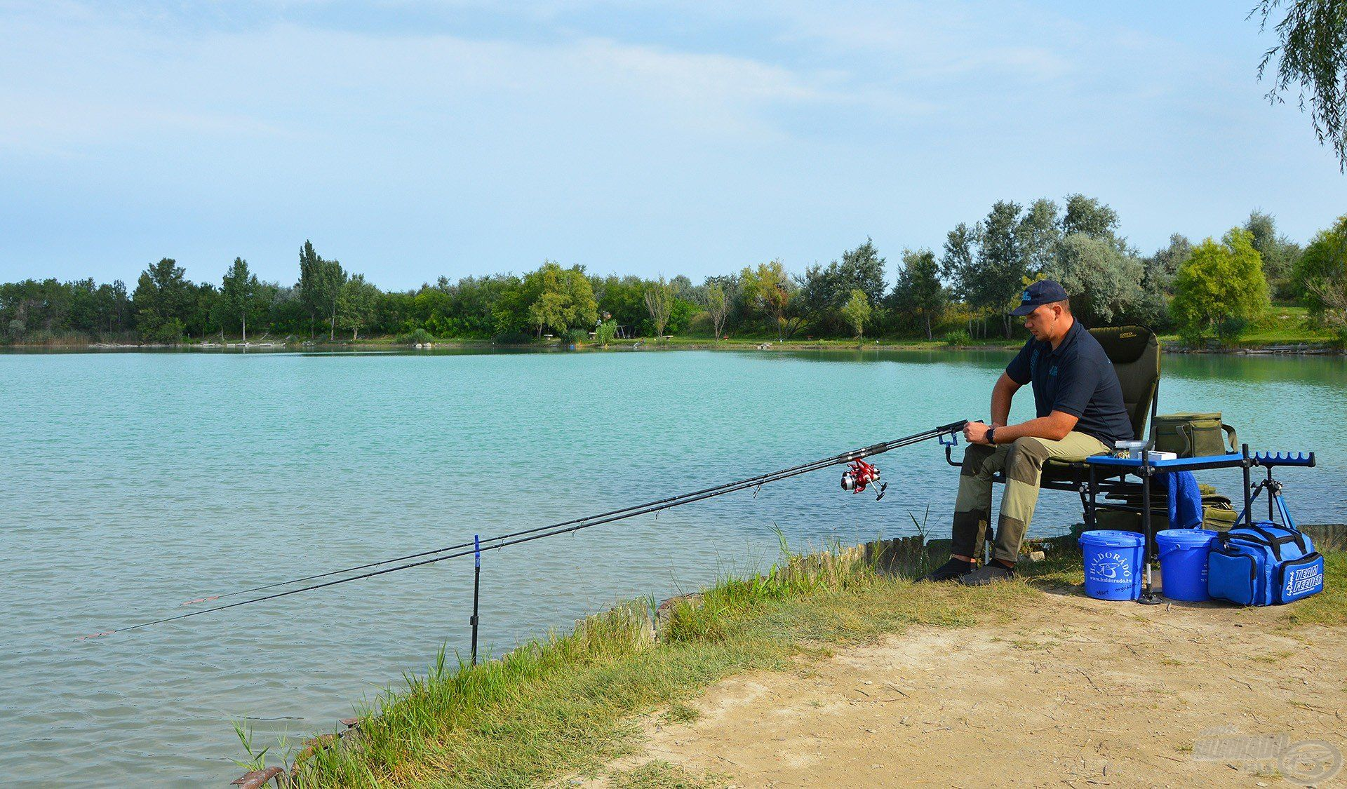 Remek időben és gyönyörű környezetben horgászhattam, nagyon kíváncsian vártam, mit tartogat számomra a nap