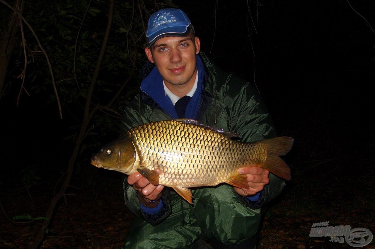 A halak mérete 1,5-től 3,5 kilogrammos súlyig terjedt