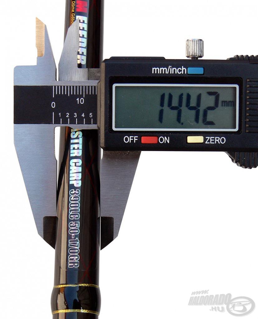 Az IMT-9 Power Carbon blank kevlárhálós erősítést kapott, amely így még vékonyabb és feszesebb bottestet eredményez