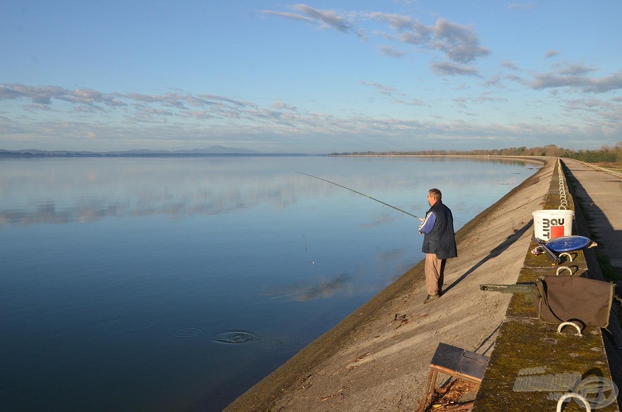 Itt is horgásznak