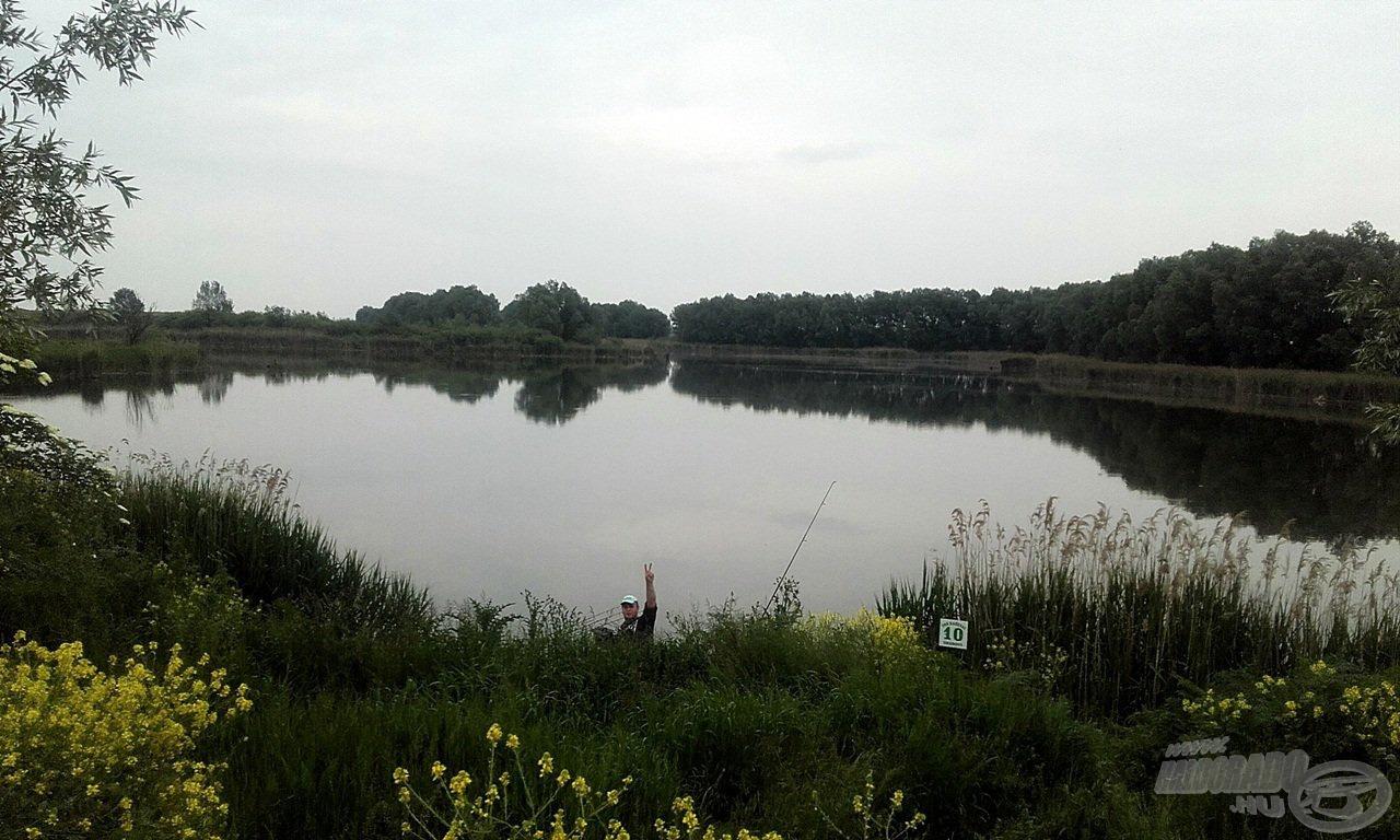 A hatalmas kiterjedésű vízterület, melyen horgászhattunk szívünk vágya szerint