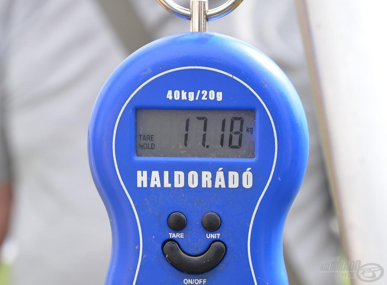 Az új pályarekordhoz a Pole It Feeder segített hozzá!