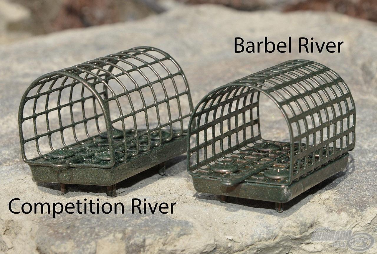 A Haldorádó Competition River és Barbel River a céltudatos folyóvízi horgászoknak készültek