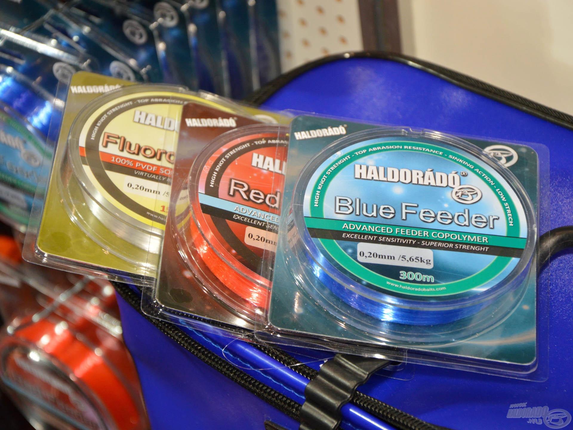 Akik még nem töltötték fel orsóik dobját, azok vittek az új feeder zsinórjainkból, amelyek színükkel is kitűnnek az átlagos zsinórok közül