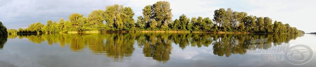 Szép folyó a Tisza!