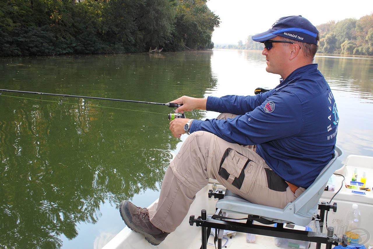 Amikor már csökkent a lelkesedés, a folyó mindig adott egy-egy halat