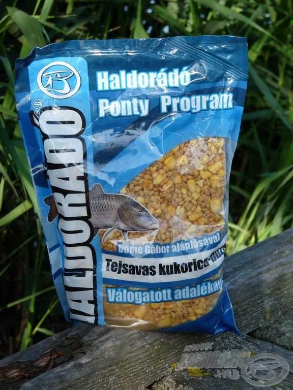 FermentX Tejsavas kukorica-búza a mindennapos horgászatok keveréke