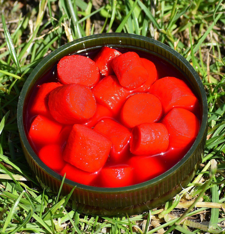 FermentX Natural Bait - Tejsavas Nagy Ponty piros színnel és egy speciális, tejsavas, vegyes gyümölcsös ízzel, illattal