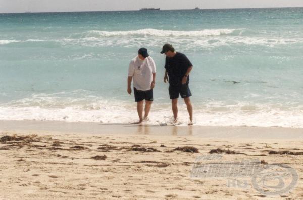 Először az Atlanti-óceánban sétálva! Egy újabb felejthetetlen élmény!