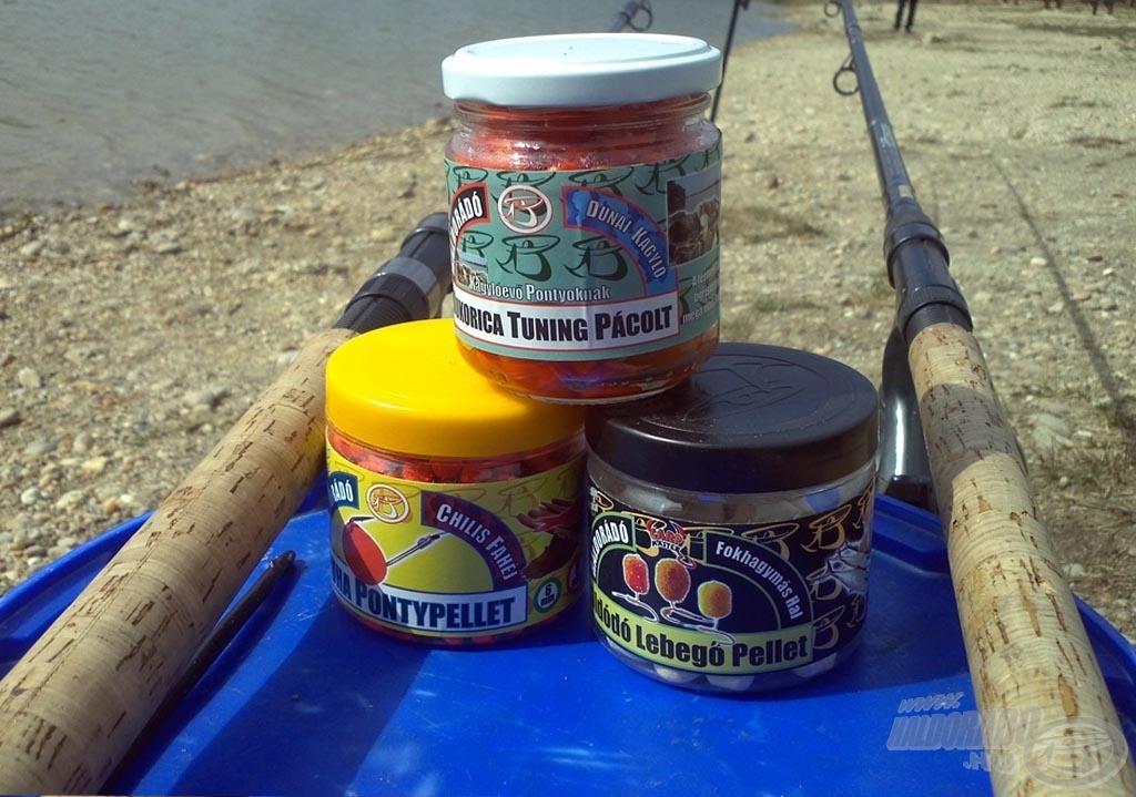 A horgászat során a legtöbb halat adó csalik