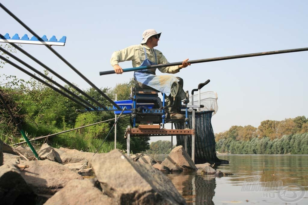 A rakós botos horgászat a Tiszán is különösen eredményesnek bizonyult