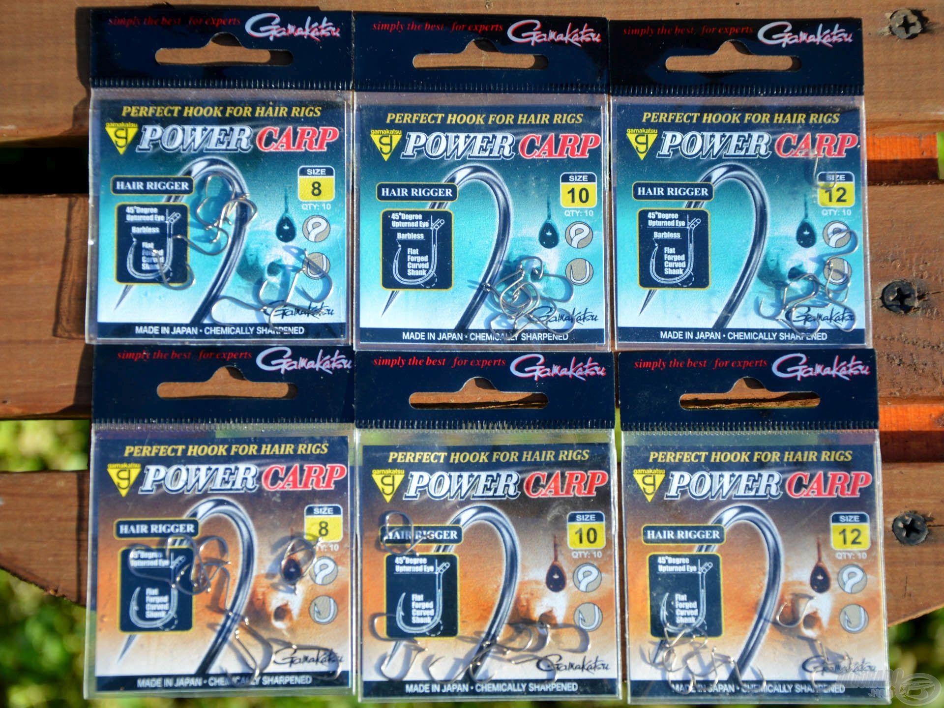 A Gamakatsu Power Carp kifejezetten ajánlott method horgászathoz! Kapható szakállas és szakáll nélküli változatban is