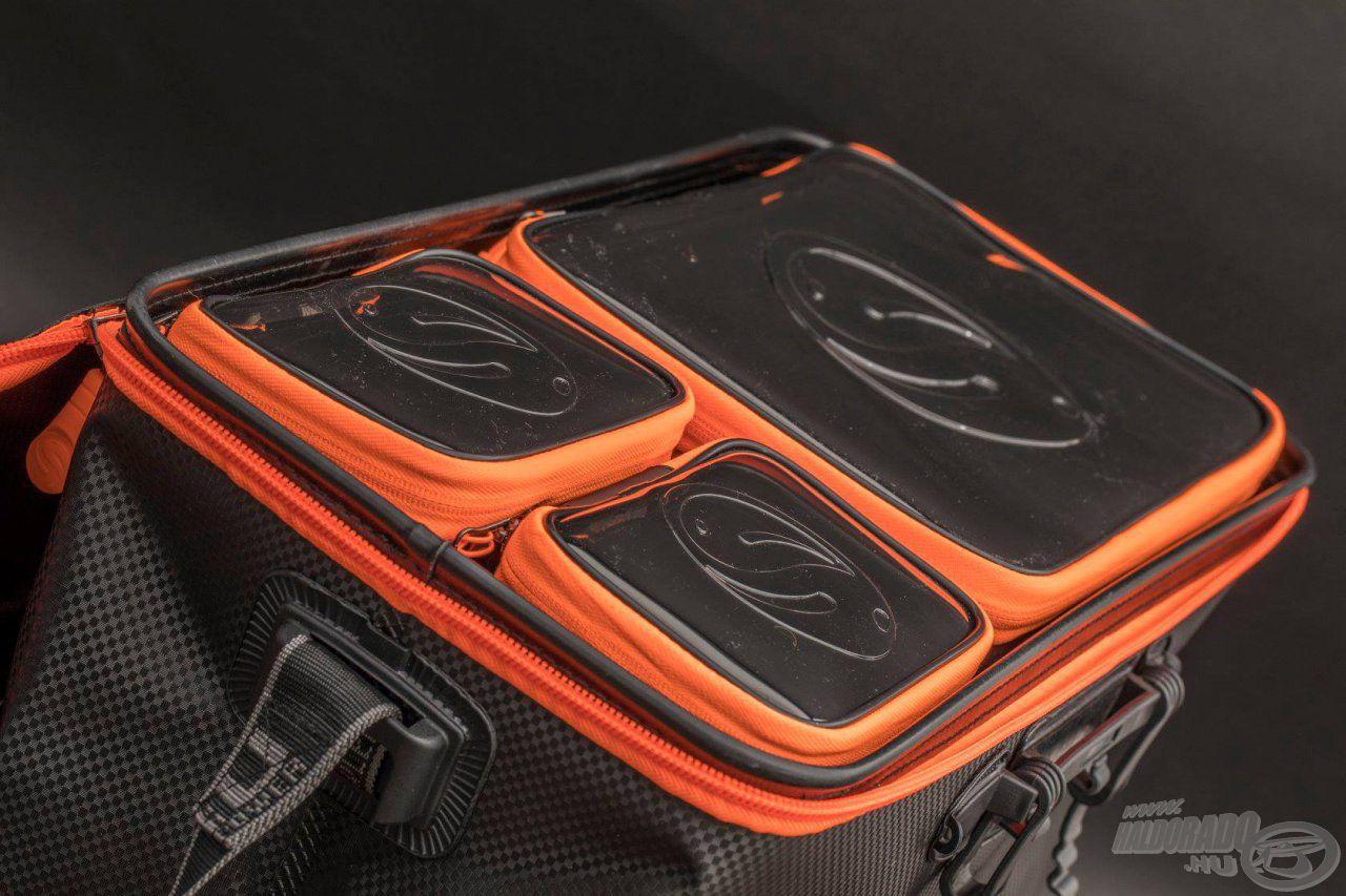 Szép, precíz kialakítású táska