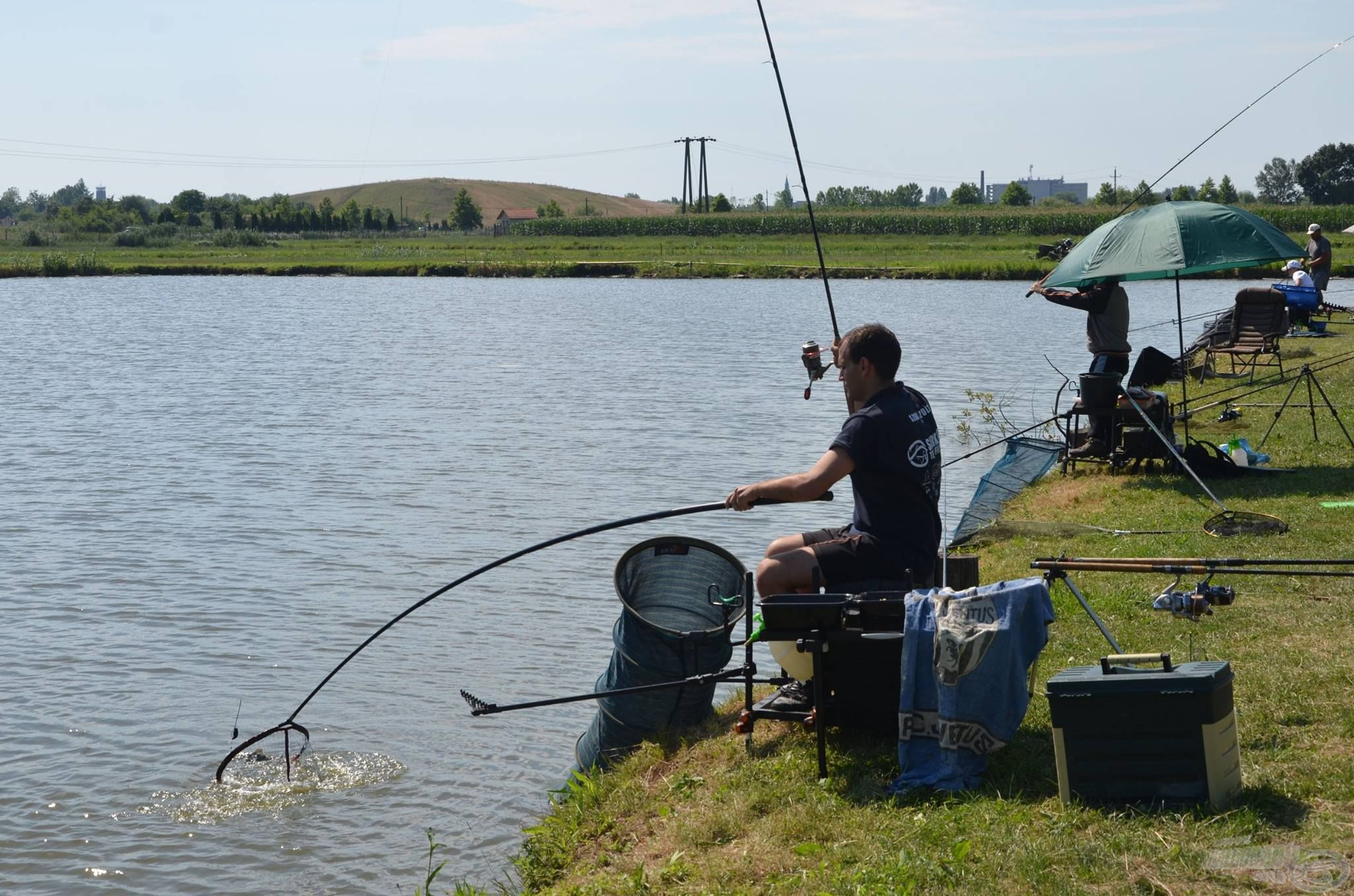 A második, szombati pálya a Tóth horgásztó lesz…