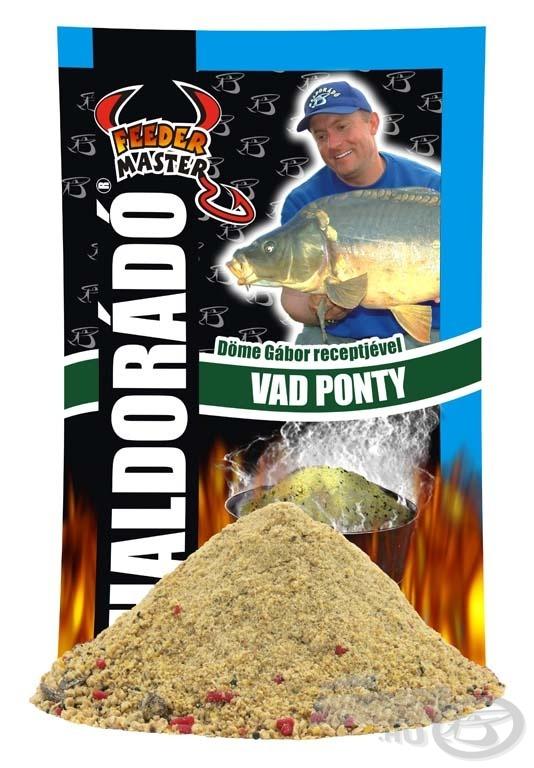 Vad Pontyot olyan horgászvizekre ajánljuk, ahol a halfauna nem ismeri a modern, aromás, hallisztes etetőket és csalikat