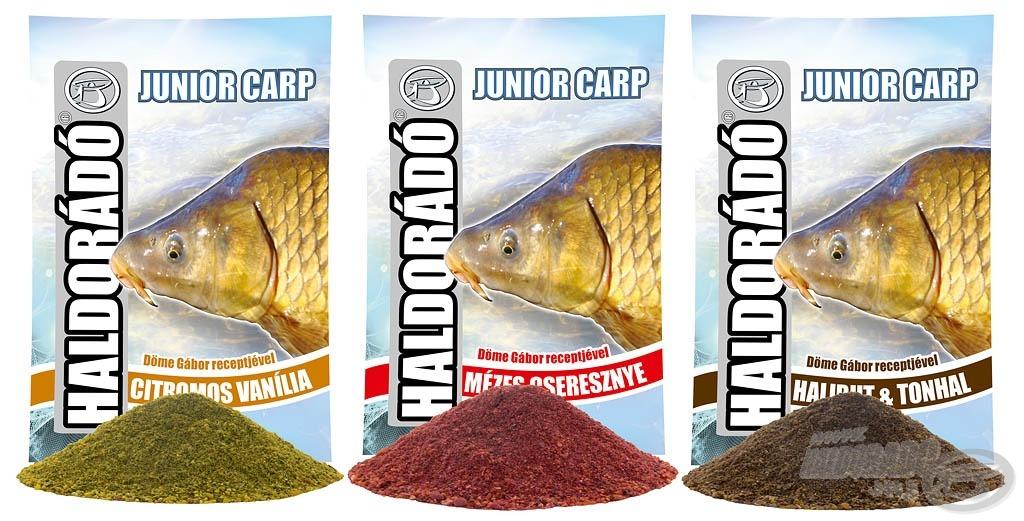 A Junior Carp etetőanyagok gazdaságos megoldást és jó fogást kínálnak