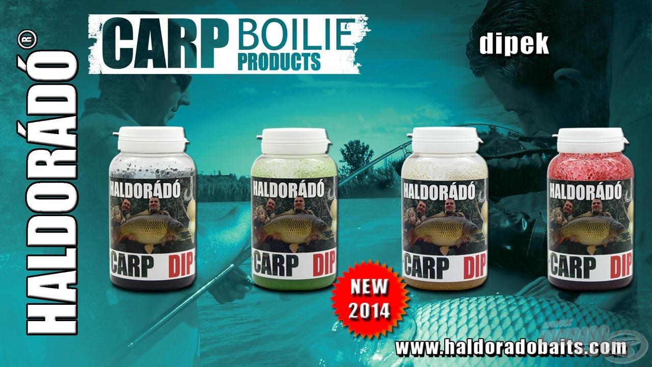 A Carp Dip 4 nyerő ízben kerül forgalomba