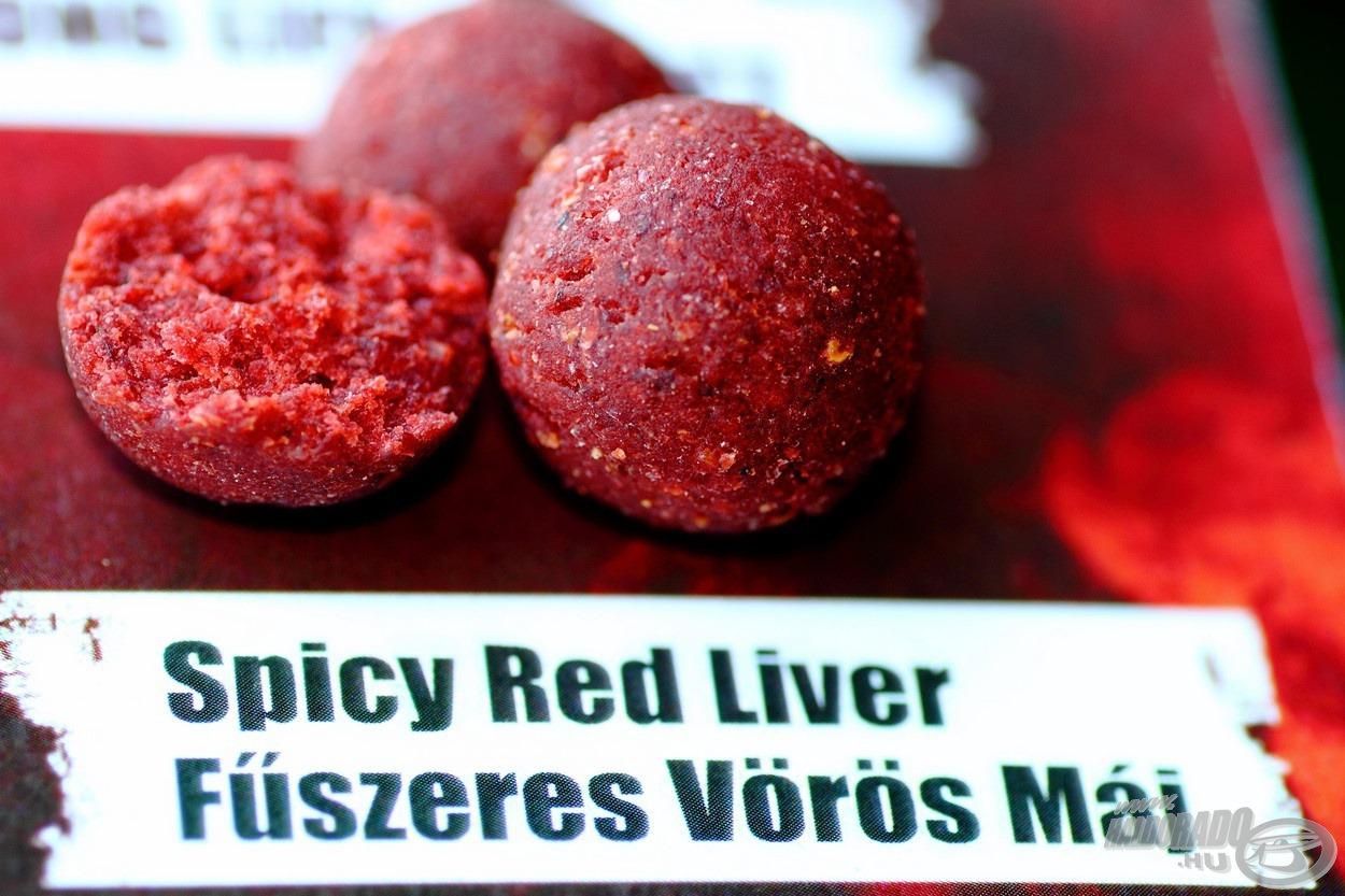 A fűszeres vörös máj bojlik a tápanyagok mellett gazdagok ízanyagokban is