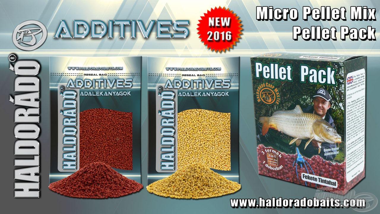 Egy új ízesítésű Pellet Pack és két rendhagyó ízű micropellet kerül 2016-ban forgalomba