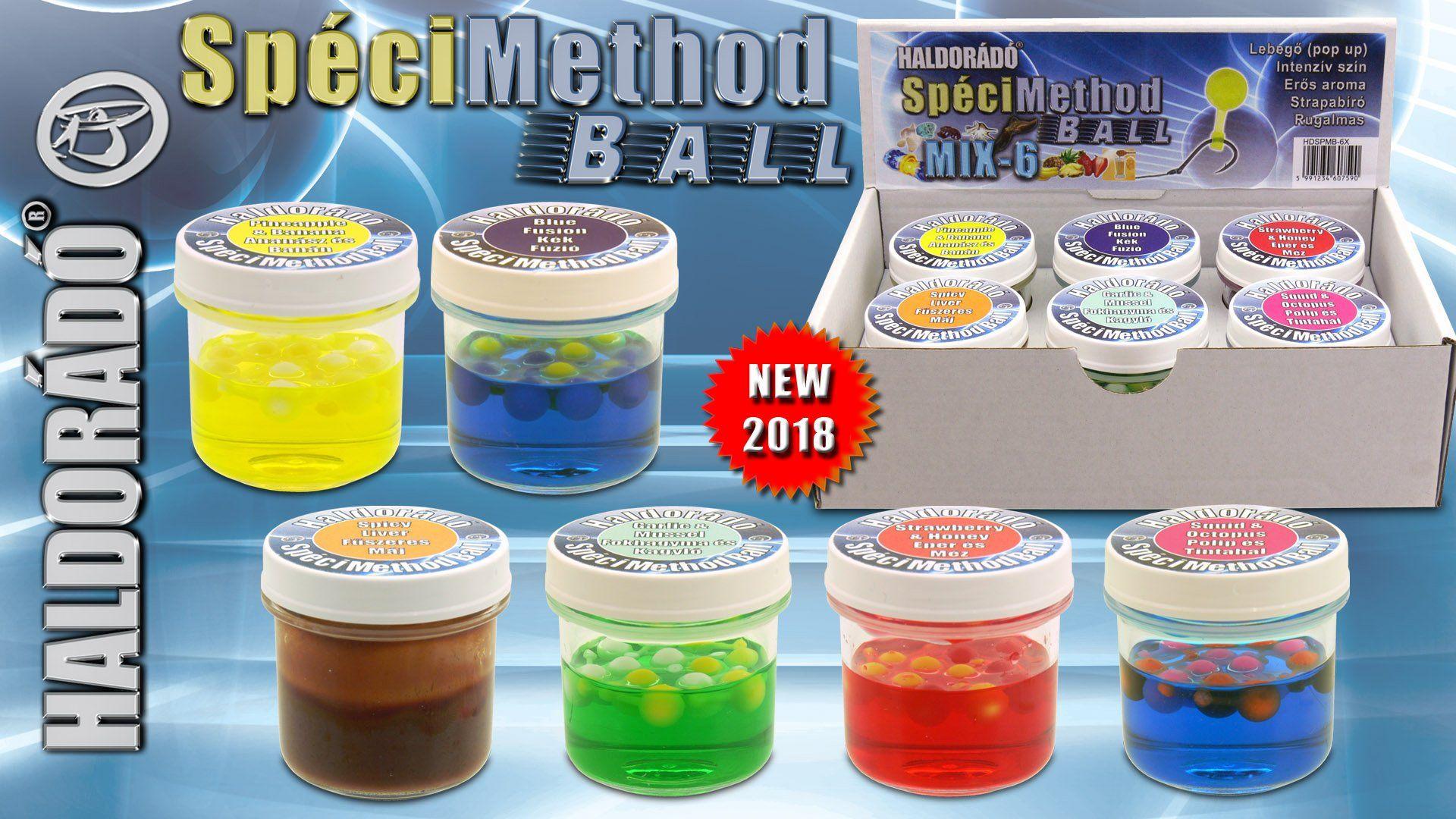 SpéciMethod Ball a világ talán egyik legegyszerűbben használható method csalija!