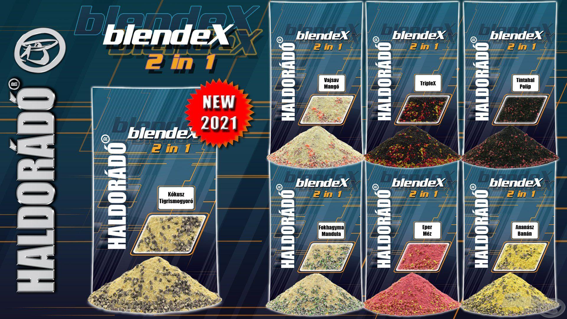 A BlendeX 2 in 1 etetőanyag szériában is elérhető lesz a Kókusz + Tigrismogyoró íz