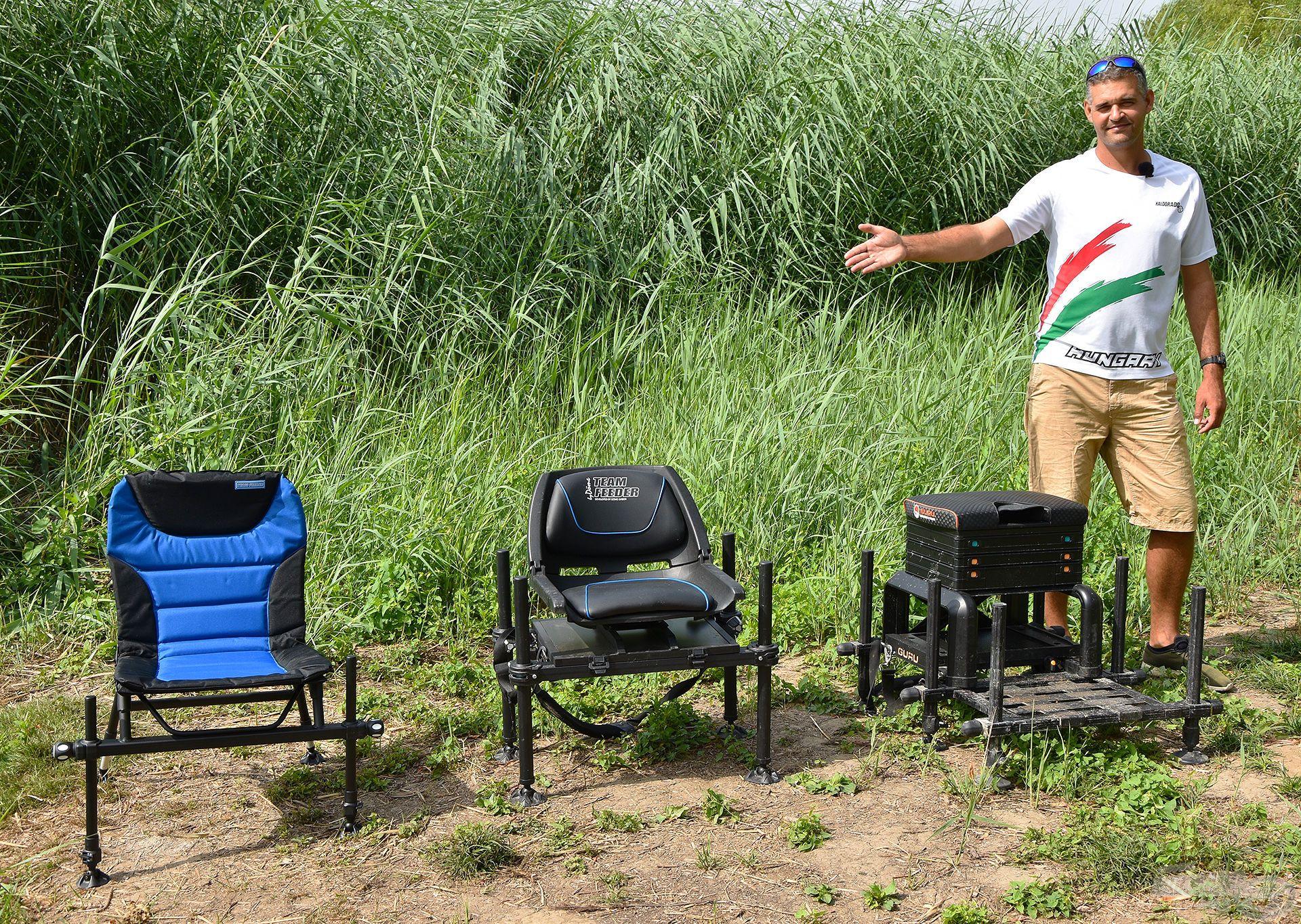 Versenyládákra, Rotary Boxra és moduláris, kerek lábbal ellátott székekre, fotelekre is felhelyezhetők a Haldorádó láda kiegészítők