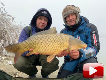 Hideg vízi pontyhorgászat feederrel 23. rész – Januári pontyok