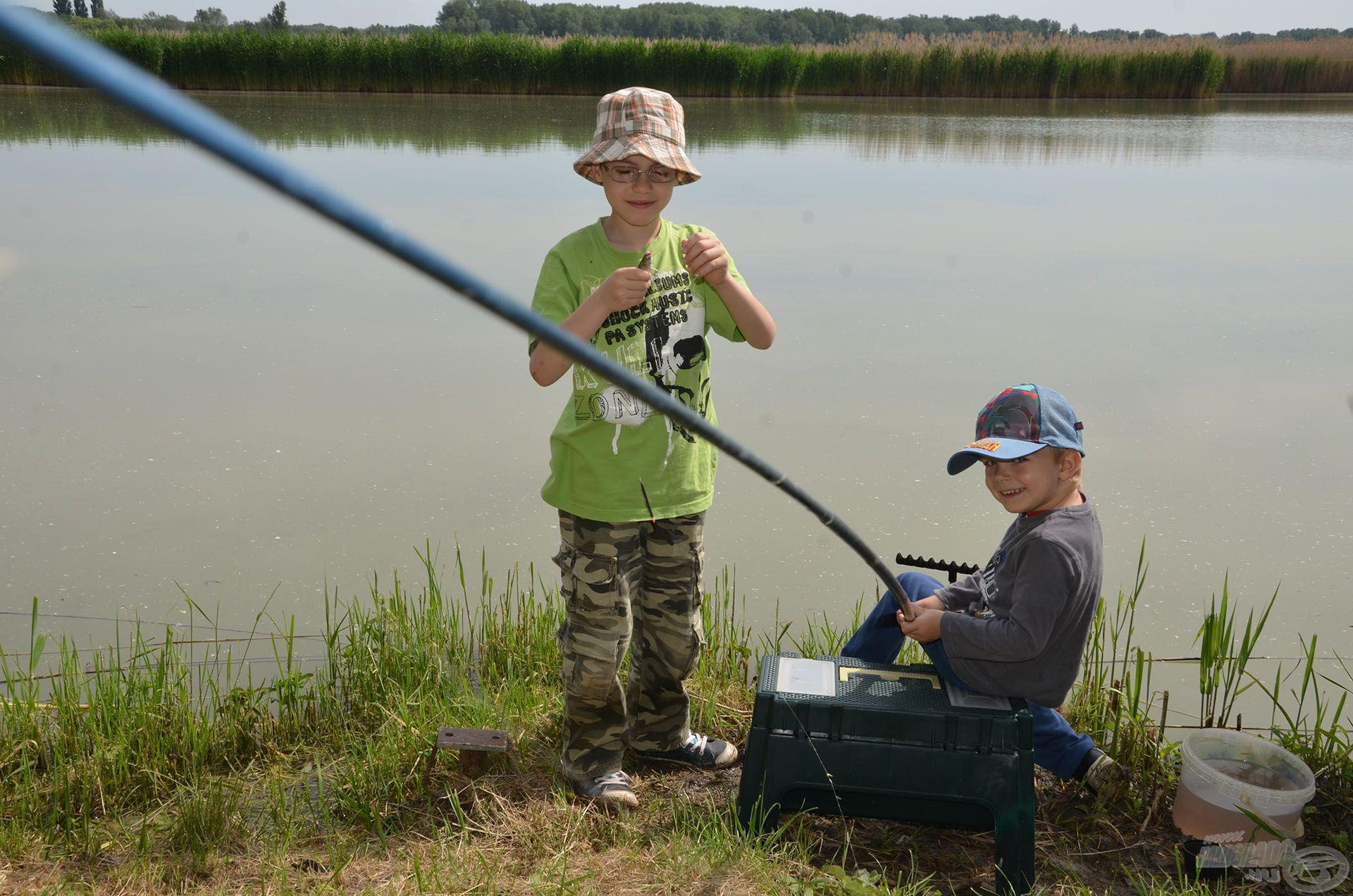 Érdemes a család többi tagját is bevonni a horgászatba