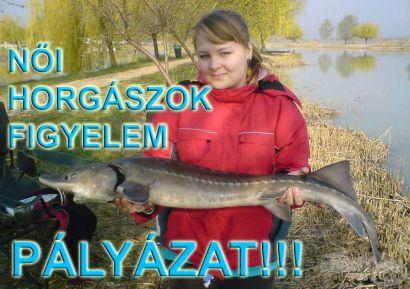 Hogyan lettem horgász?… avagy a horgászat női szemmel! - PÁLYÁZAT