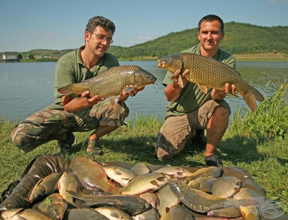 Nem hétköznapi halmennyiség került a matracra a néhány órás horgászat végén